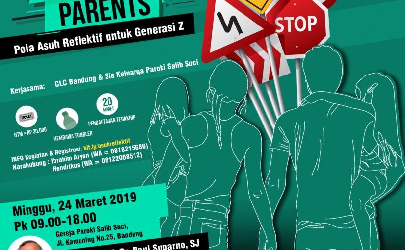 Discerning Parents – Pola Asuh Reflektif untuk Generasi Z–